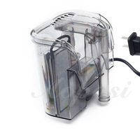 Товары для домашних питомцев 65790-Top sell 3W Hang-on Waterfall Filter curtains filter for aquarium
