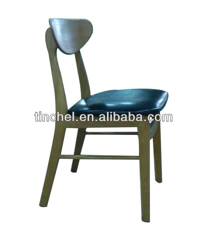 classique coréenne style frêne massif en bois chaise confortable ... - Chaises Confortables Salle Manger