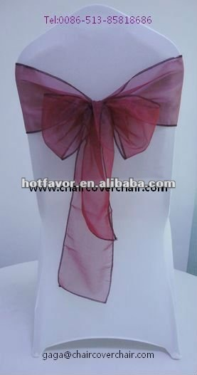 pink organza chair sashes china manufacturer supplier wholesaler