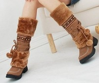 Женские ботинки AH053 high quality flat uppers lady's casual dress shoes women's short boots size 35-40