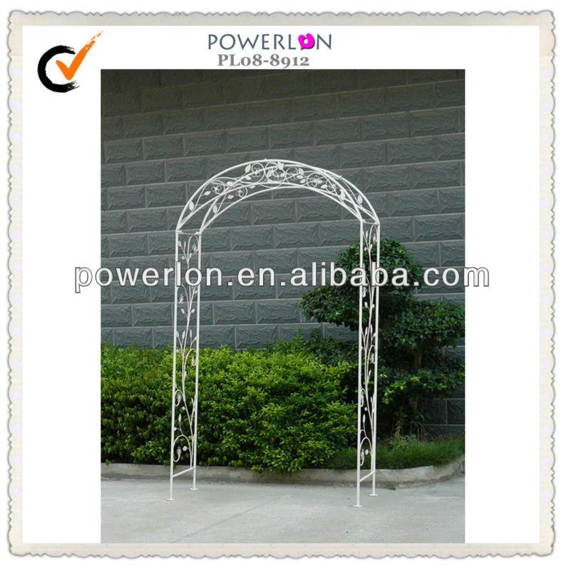 jardn decorativo arcos de hierro forjado
