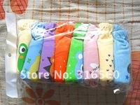 Best selling!!Baby Cartoon waterproof cotton potty training pants 4 layers Baby underwear Free shipping 10pcs/lot