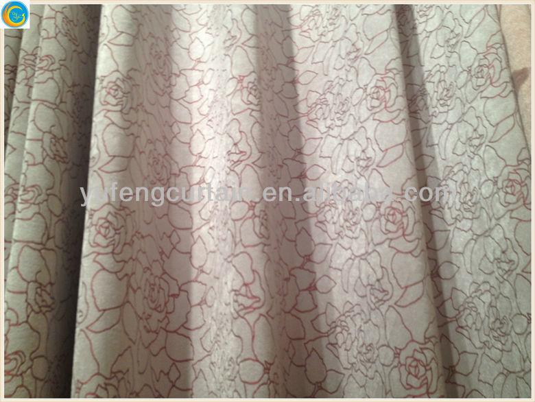 silk curtain