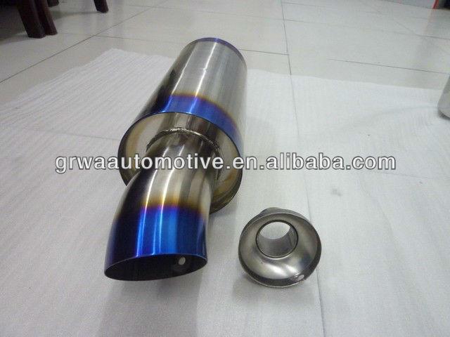 Titanium J's racing muffler