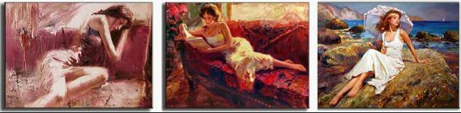 Graisse femme nue peinture