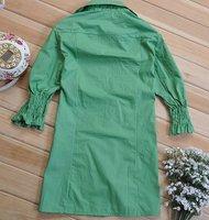 Женские блузки и Рубашки Hot! 2012 Fashion Ladies leisure shirt, pretty ladies blouse, Womens Blouse, Ladys Shirt, OL Blouse, Womens clothing, White