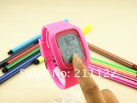 Наручные часы Holiday sales 2013 New style Fashion touch watch touch screen watch for men and women