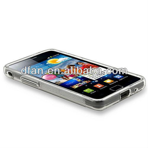 White tpu s line case for galaxy s2