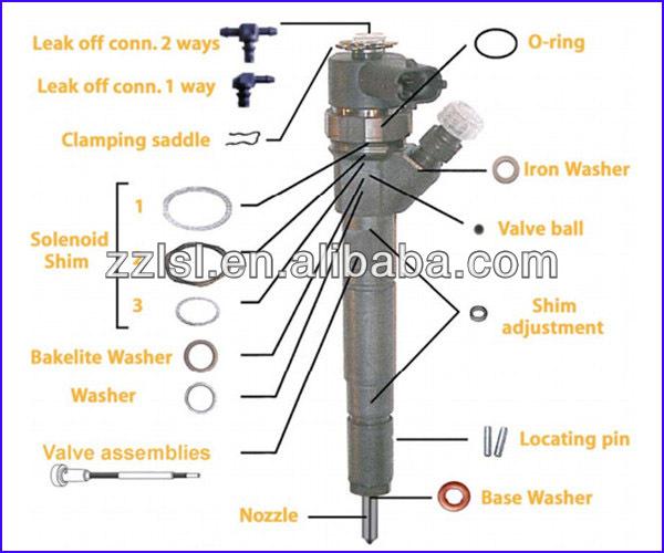 Common Rail Bosch Injector Repair Kits F00VC99002