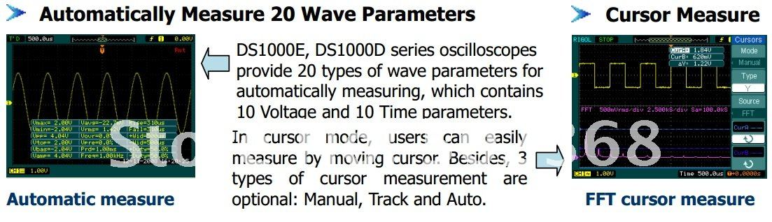 RIGOL DS1102E DS 1102E 2 Channel Digital Oscilloscope 100MHz DSO 1GSa/S original top china factory manufacture