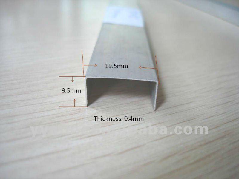6063 t6 de aluminio u perfil de canal precio de f brica - Perfil de aluminio precio ...