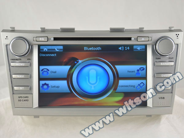 WITSON 3g support TOYOTA CAMRY with Digital 800x480 Touch Screen
