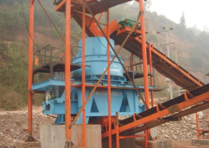 General mining equipment supplied by china top manufacturer PL Vertical Shaft Impact Crusher Sand Making Machine