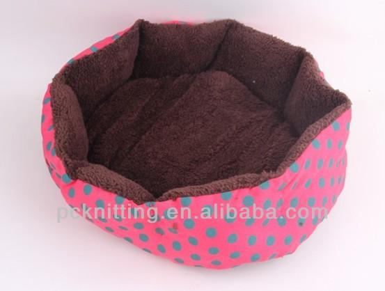 New Design Top Quality Cotton Dog House With Dot Pet Product Cotton Dog Mat Pet Beds Size M/L MOQ 100 PCS