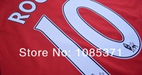 Мужская футболка для футбола manchester mens all player MATA #8 Rooney #10 V. Persie #20 GIGGS football soccer jersey shirts uniforms embroidery customize