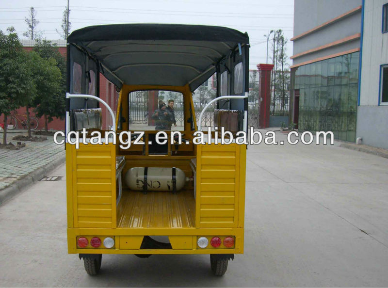 cheap sale 150CC yellow three wheel cargo motorcycle