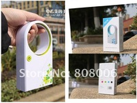 Hand-Held Mini USB Power Supply Round Shaped Electric Fan Bladeless Air-condition