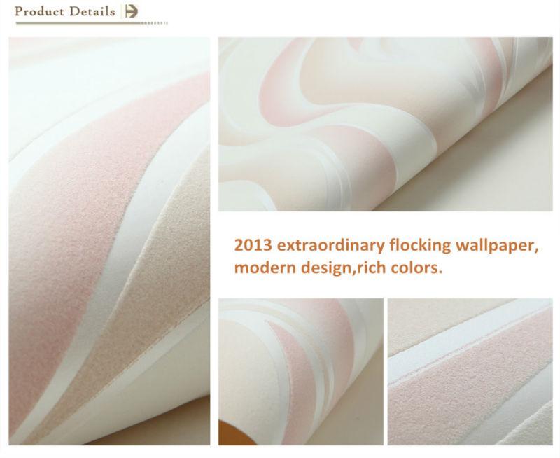 European Style Flocking Wallpapers Modern Fashion Wallpaper View Modern Fashion Wallpaper