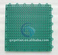 Искусственные газоны и покрытие для спорт площадок GETIAN slip/agging PP GT-F-01/06
