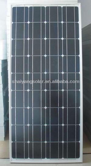 130w pv mono solar panels/solar module