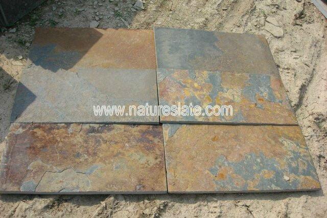 Slate Tiles For Backyard : Outdoor Slate Tile