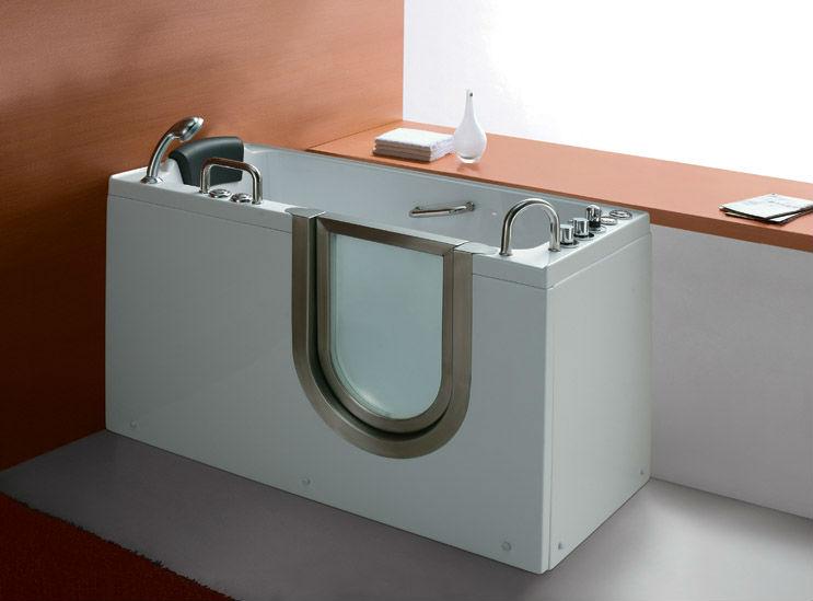New design walk in bathtub / dog bathtub