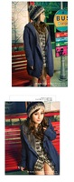 Free shipping/2012 NEW/Sweater/Winter clothes/Thick/Single breasted/Coat/Tops/Plus Size/RG1208103