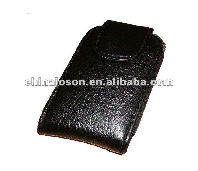 black high-grade PU Leather phone bags