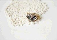 Кольцо Ancient Retro cute owl ring, 18mm J1033