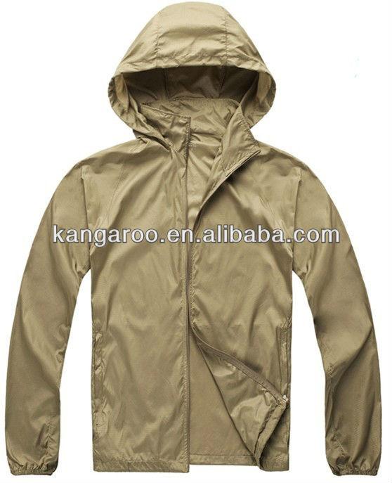 Unisex Spring Super Light 100% Nylon Water-Proof & Wind-Proof Outdoor Jacket