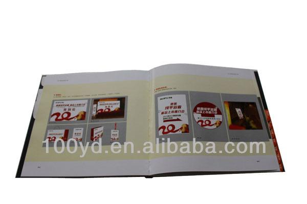 고급 레스토랑 커피 테이블 도서 인쇄 카탈로그-종이 및 판지 ...