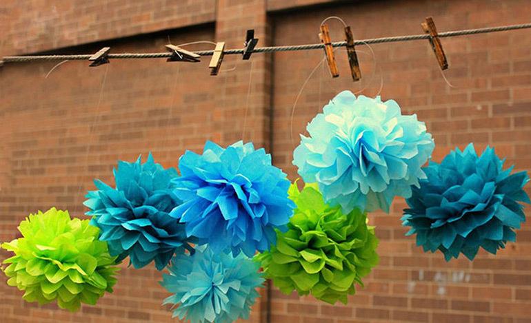 cheap paper decorations d paper decorations cheap tissue paper fan decoration buy d paper decorations cheap tissue paper fan