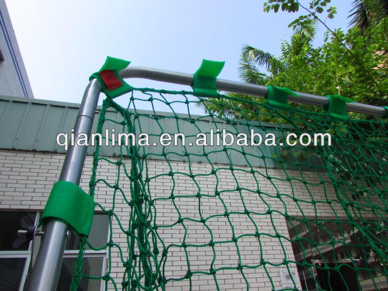 Warmed welcomed Back Yard Polyethylene Baseball Batting Cage in American