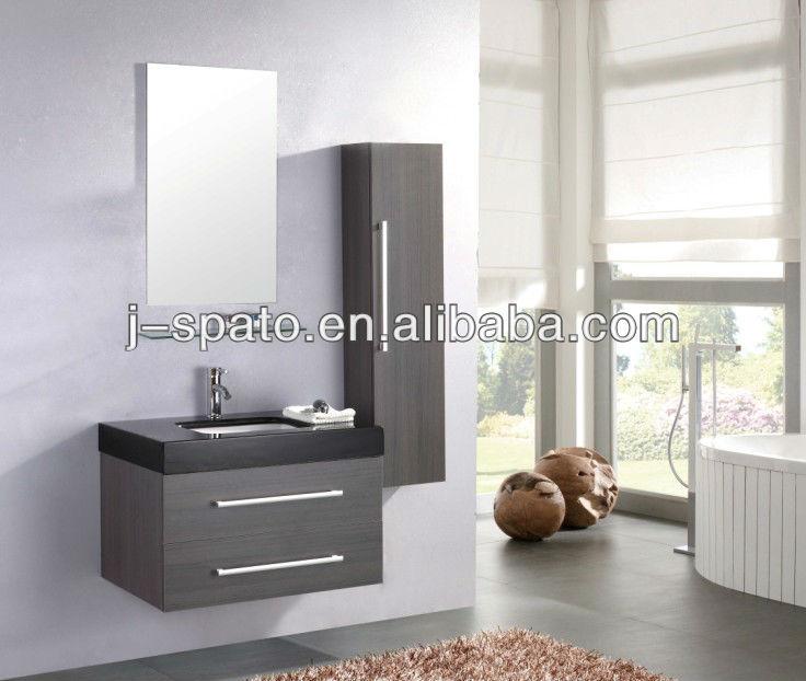 Bathroom cabinet with wash basin design furniture