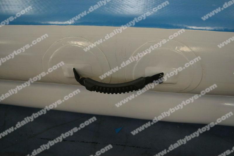Piatto dg01 gonfiabile palestra tumble traccia sealed air dwf materiale sicuro& forte stuoia di ginnastica attrezzature