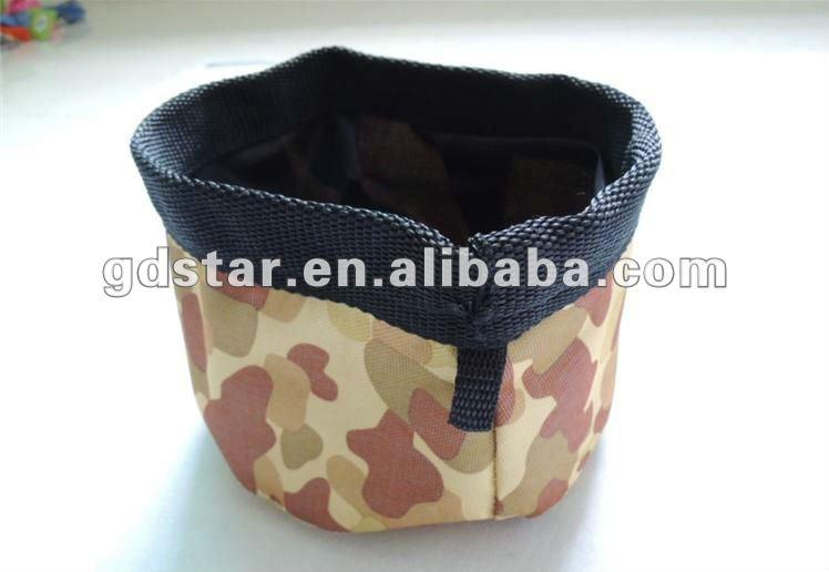 Pet foldable dog travel Bowl