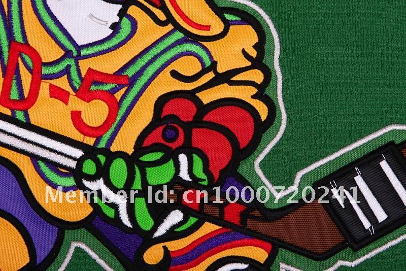 Charlie Conway #96 Mighty Ducks Movie Hockey Jerseys Stitch Sewn Blue