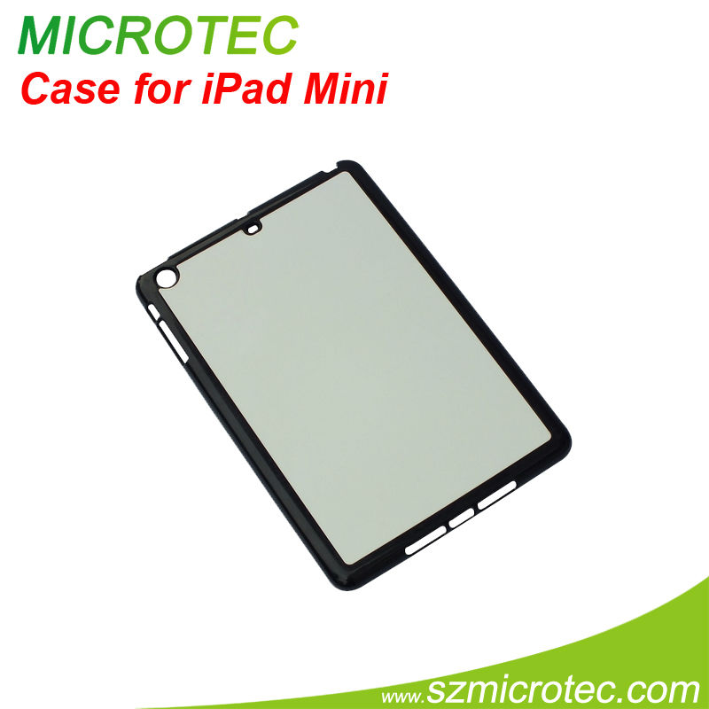 Sublimation case with aluminum sheet case for mini ipad