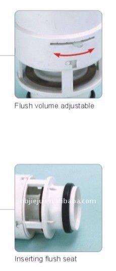 concealed cistern flush valve