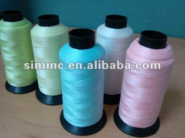 Filament teint en nylon
