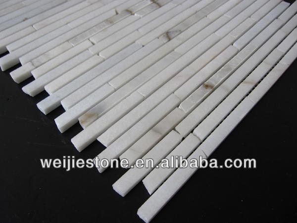 Inspiratie Voor Badkamers ~ Chinese carrara wit marmeren tegels voor wand baksteen mozaïek