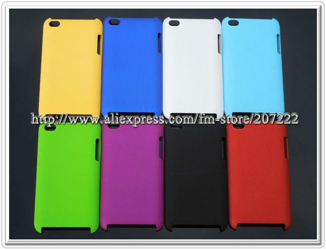 Freeshipping 50pcs/lot PC material hard case for Apple touch 4 4g