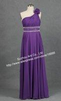 Платье знаменитостей GW181 New style One Shoulder Beaded Dress Celebrity Gown