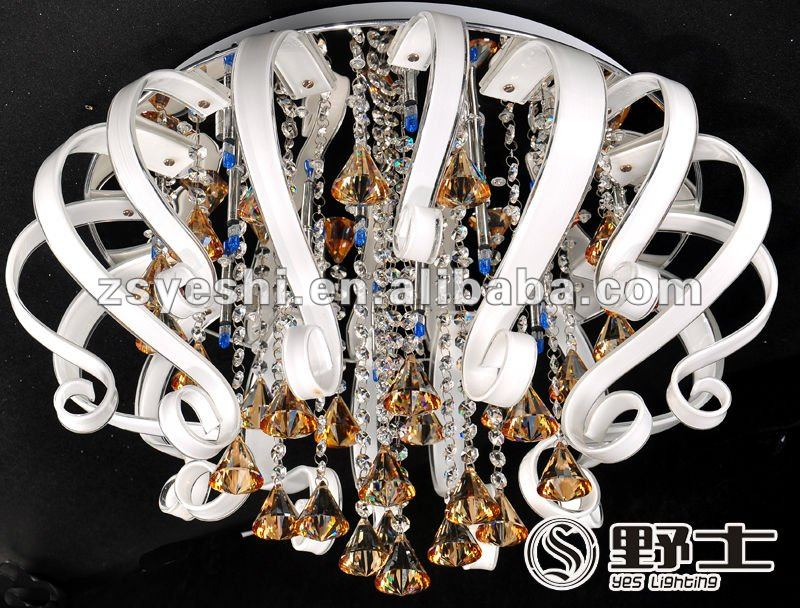Indoor modern crystal LED chandelier #YC0024-600