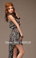 # 022 Korean Style Women Dress black color