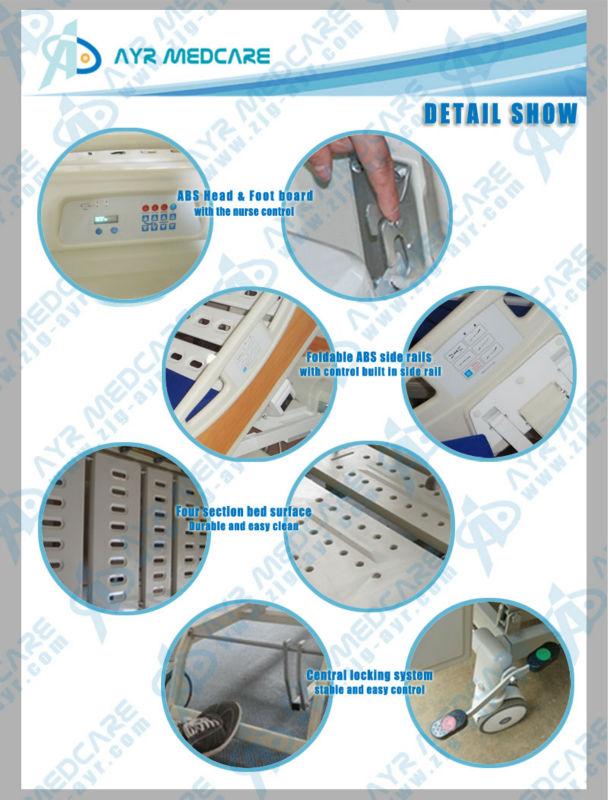 CE FDA!!! 멀티 기능 전기 ICU 침대 AYR-6101 핫!-금속 침대 -상품 ID ...