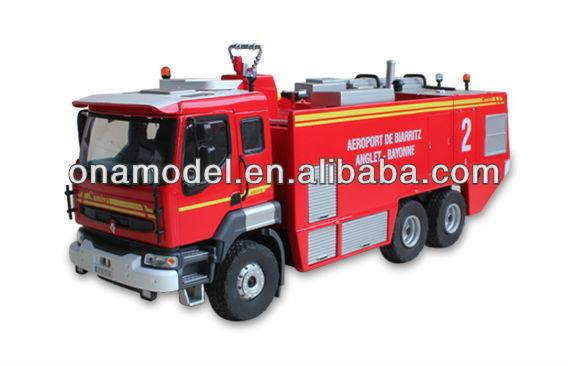 43 литой модели пожарные машины