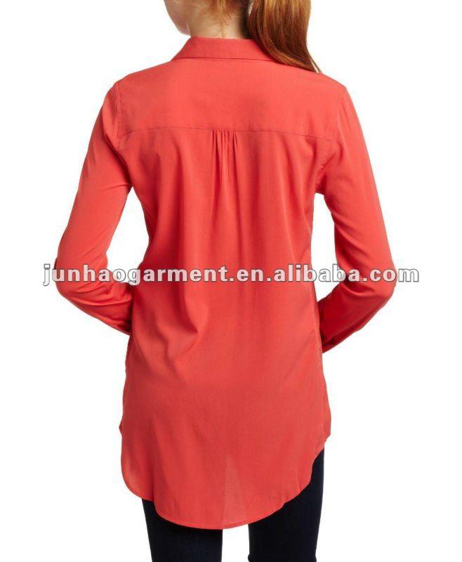 diseño de moda las mujeres blusa camisa modelo