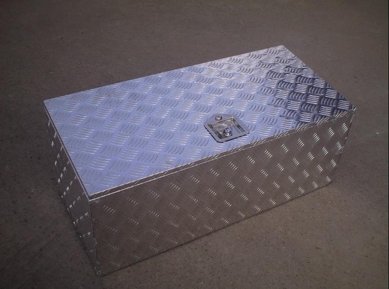 trailer parts trailer aluminium tool box