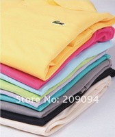 Мужская майка 2012 fashion menswear summer new polo shirts, short-sleeved polo casual shirt male 12 colors